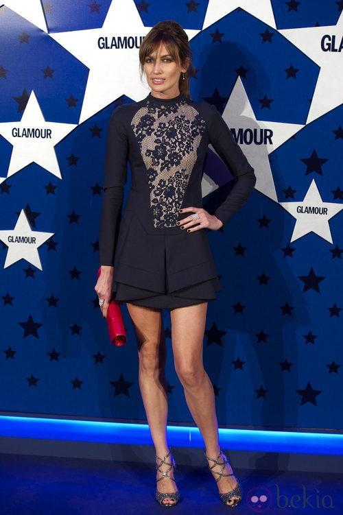 Look de Nieves Álvarez en los Premios Top Glamour 2011