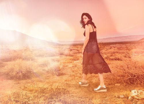 Vestido de transparencias de H&M colección 'Loves Coachella' 2017