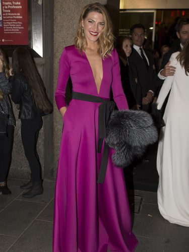 Laura Sánchez con un vestido de Roberto Diz en los ELLE Style Awards 2016