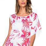 Camisa de color blanco y rosa de Salsa primavera/verano 2017