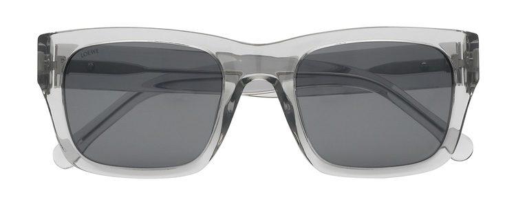 Gafas de sol con montura transparente de Loewe primavera/verano 2017