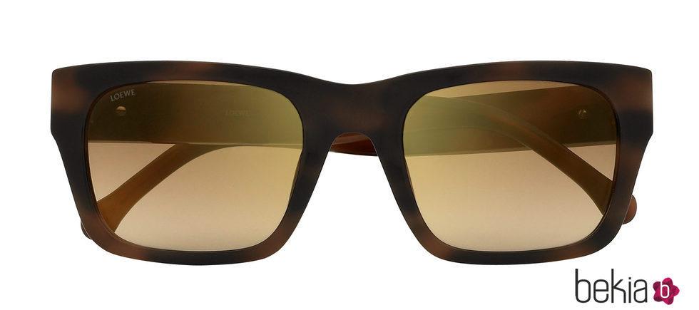 Gafas de sol con montura rectangular de Loewe primavera/verano 2017 ...