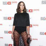 Olivia Culpo con una falda de transparencias en la gala Delete Blood Cancer DKMS 2016