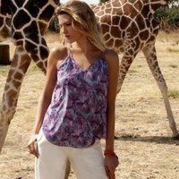 Laura Sánchez con una camisa de la primavera/verano 2017 de Bloomers