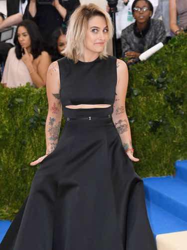 Paris Jackson con un vestido de Calvin Klein en la Gala del MET 2017