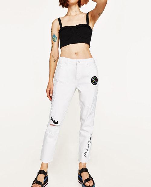 Pantalones relax fit de la colección cápsula para verano 2017 de Zara y Maui and Sons