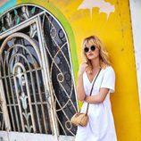 Vestido blanco de la colección de verano 2017 de Primark