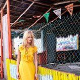 Vestido maxi en color amarillo de la colección de verano 2017 de Primark