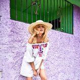 Vestido blanco off the shoulder de la colección verano 2017 de Primark