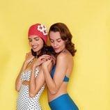 Bikinis de tiro alto de la colección retro de Etam de la temporada verano 2017