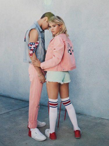 Sofia Richie y Lucky Blue Smith en la nueva campaña de Tommy Hilfiger 2017