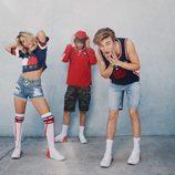 Sofia Richie,Anwar Hadid y Lucky Blue Smith en la nueva campaña de Tommy Hilfiger 2017