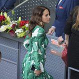 Paula Echevarría opta por un look muy tropical