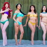 Bikinis inspirados en las princesas Disney