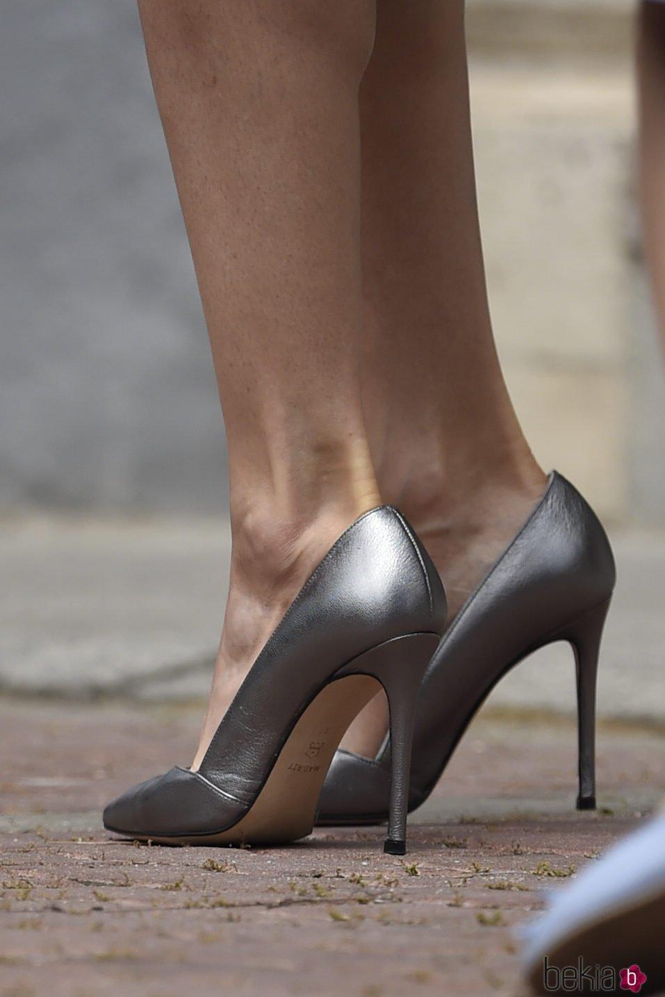Zapatos de la Reina Letizia el día de la Primera Comunión de la Infanta Sofía