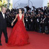 Sara Sampaio opta por un Zuhair Murad para la gala inaugural del Festival de Cannes 2017