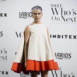 María León opta por un vestido voluminoso