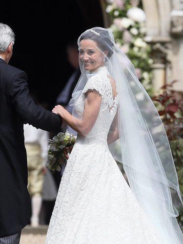 Pippa Middleton el día de su boda con James Matthews