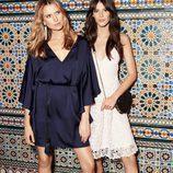 Vestido de encaje en ls nueva colección de fiesta de H&M