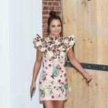 Paula Echevarría con un vestido floral
