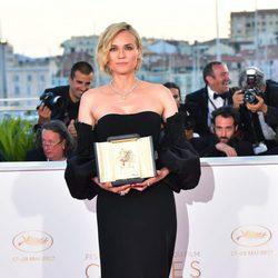 Diane Kruger, ganadora de la palma de plata a la mejor actriz en Cannes
