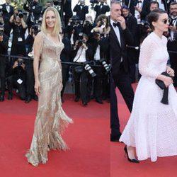 Jessica Chastain, Uma Thurman,  Rooney Mara y Diane Kruger en la clausura del Festival de Cannes