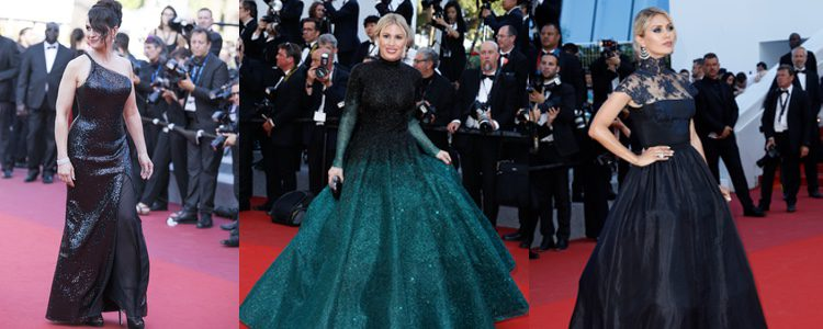 Juliette Binoche, Hofit Golan y Victoria Bonya en la clausura del Festival de Cannes