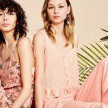 Vestido estampado tropical de la colección Verano 2017 de Lefties 'Tropical Forest'