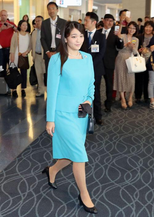 La princesa Mako en Tokyo