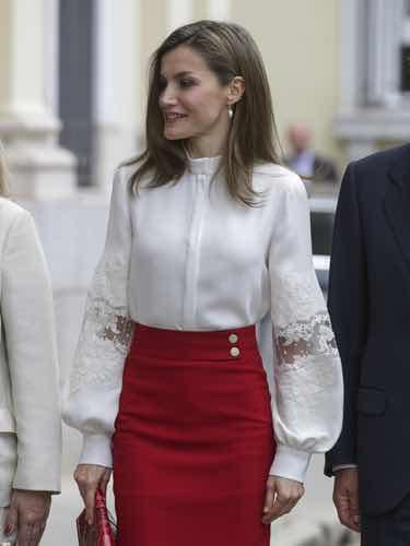 La Reina Letizia en el aniversario de la fundación BBVA