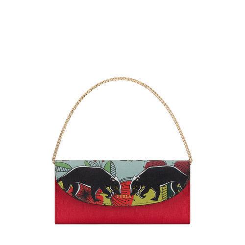 Bolso de mano rojo de Furla colección Pre-Fall 2017