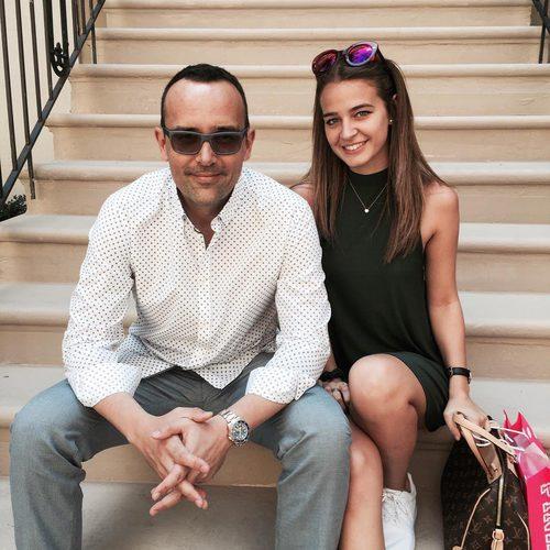 Risto Mejide y Laura Escanes posan juntos en las redes sociales