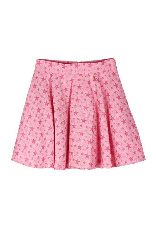 Falda rosa de la colección 'Estrellas' de Pati Conde by Dandara PV17