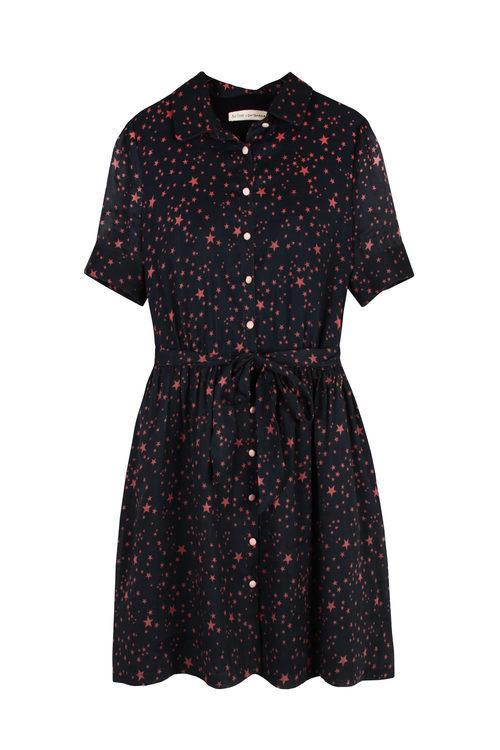 Vestido corto de la colección 'Estrellas' de Pati Conde by Dandara PV17