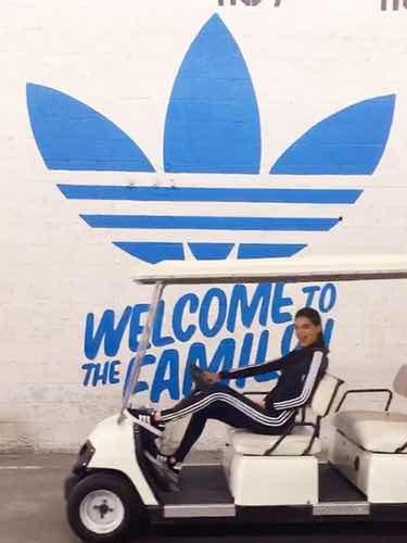 Kendall Jenner como imagen de Adidas