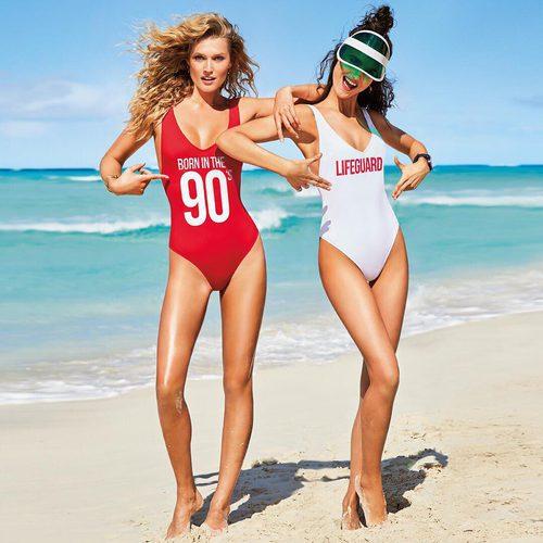 Imagen promocional de la colección de bañadores personalizados de Calzedonia