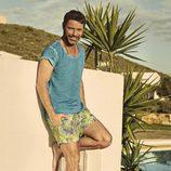 David Ascanio con ropa de baño para Mr Musk by Bloomers