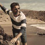 David Ascanio con ropa de inspiración marinera para Mr Musk by Bloomers