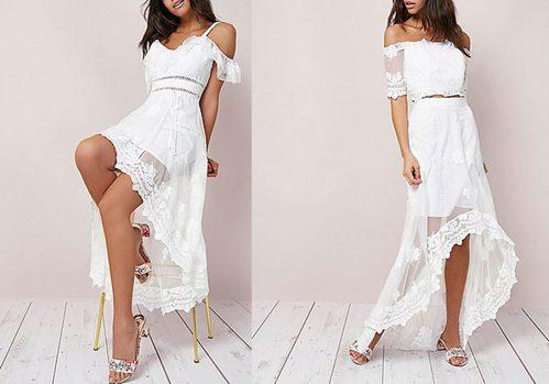 Vestidos blancos  de la nueva colección de River Island 2017
