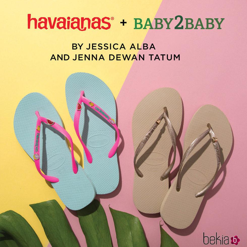 Colección  Havaianas + Bayby2Baby
