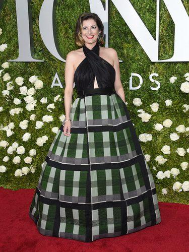 Paloma Young en la alfombra roja de los Tony Awards 2017