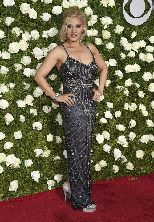 Orfeh en la alfombra roja de la gala de los Tony Awards 2017