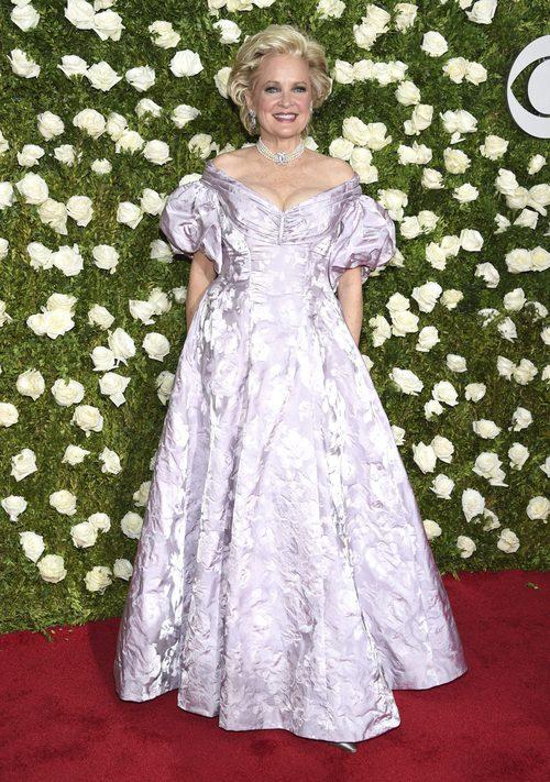Christine Ebersole en la alfombra roja de los Tony Awards 2017