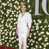 Scarlett Johansson en la alfombra roja de los Tony Awards 2017