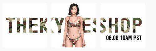 Kylie Jenner presenta su nueva colección de camuflaje