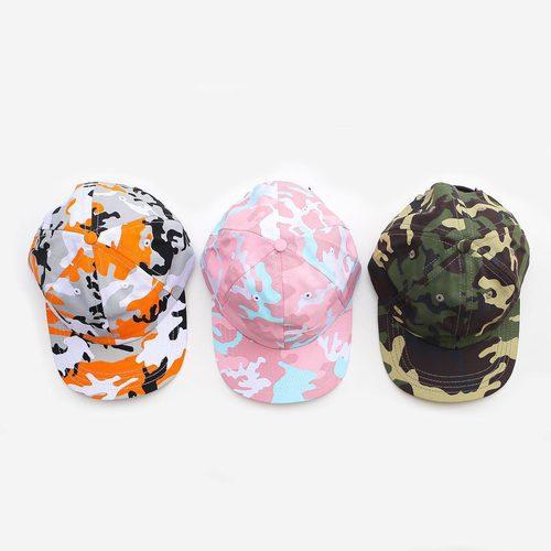 Gorras de la nueva colección de camuflaje de Kylie Jenner