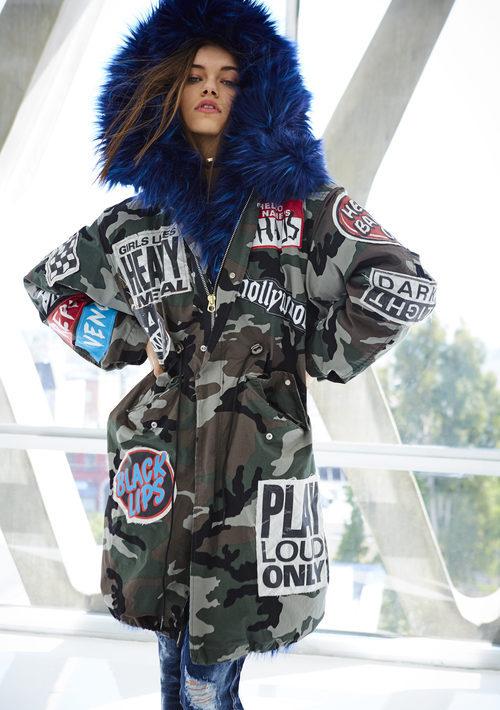 Parka militar de la colección 'Rebels & Heroes' Otoño/Invierno  2017/2018 de  Replay