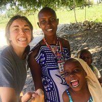 Mónica Gil, diseñadora de Alma en Pena, en Kenia