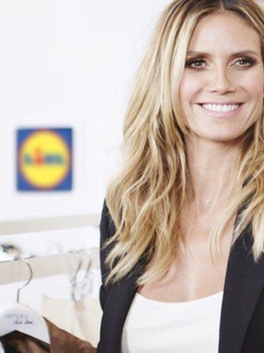 Heidi Klum diseñará una colección cápsula para Lidl
