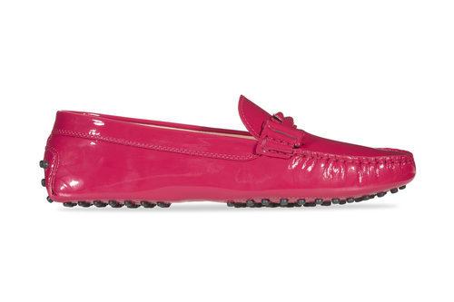 Zapato de charol rojo de la colección 'Gommino' de Tod's para verano 2017